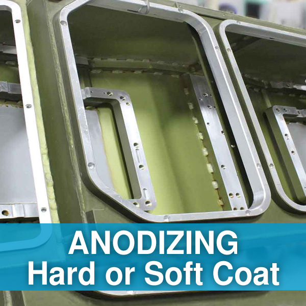Anodizing Services - Hard or Soft Coat