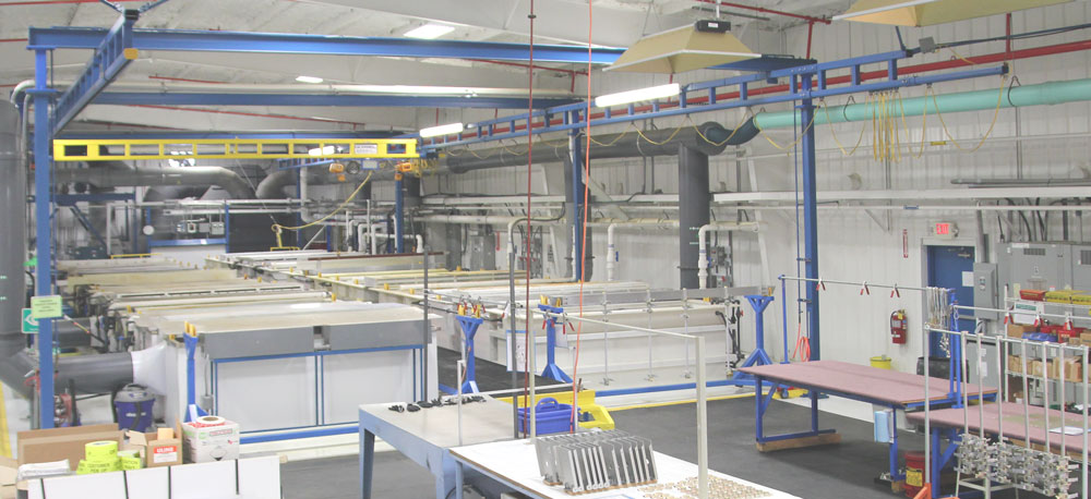 Wide Metal Treatment Line - H&W Global Clean Shop