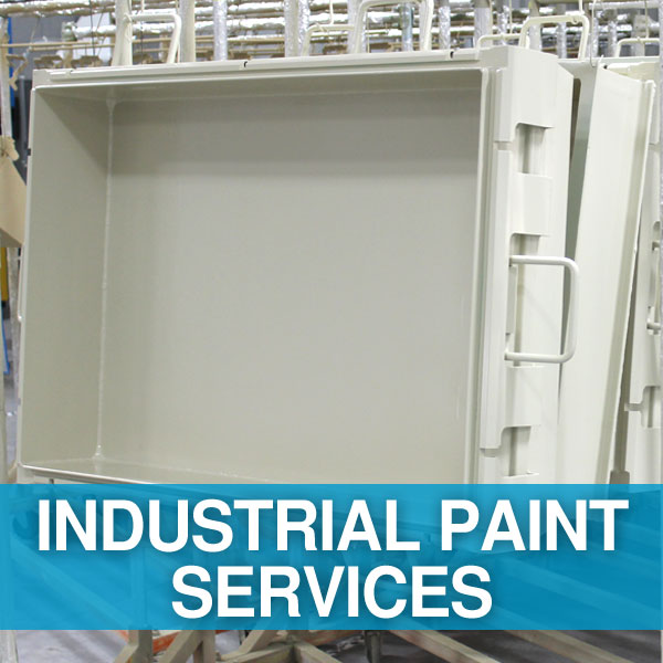 Industrial Painting Services on Metal or Fabric