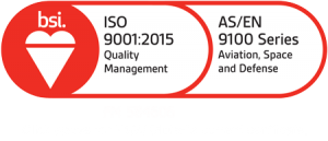ISO 9001-2015 Quality Management Certified plus AS-EN 9100 Series Aviation, Space and Defense